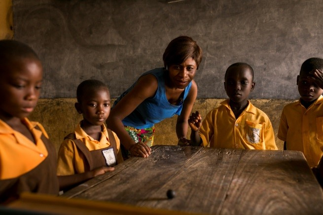 Bijdrage van de Rabobank Foundation voor training van leerkrachten in Ghana