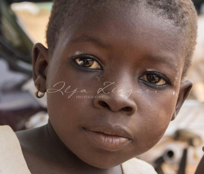 Prachtige ansichtkaarten van Ghanese kinderen